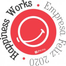 Logótipo Happiness Works Empresa Feliz 2020