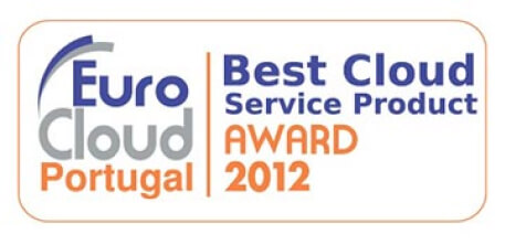 Logótipo Best Cloud Service Product Award 2012