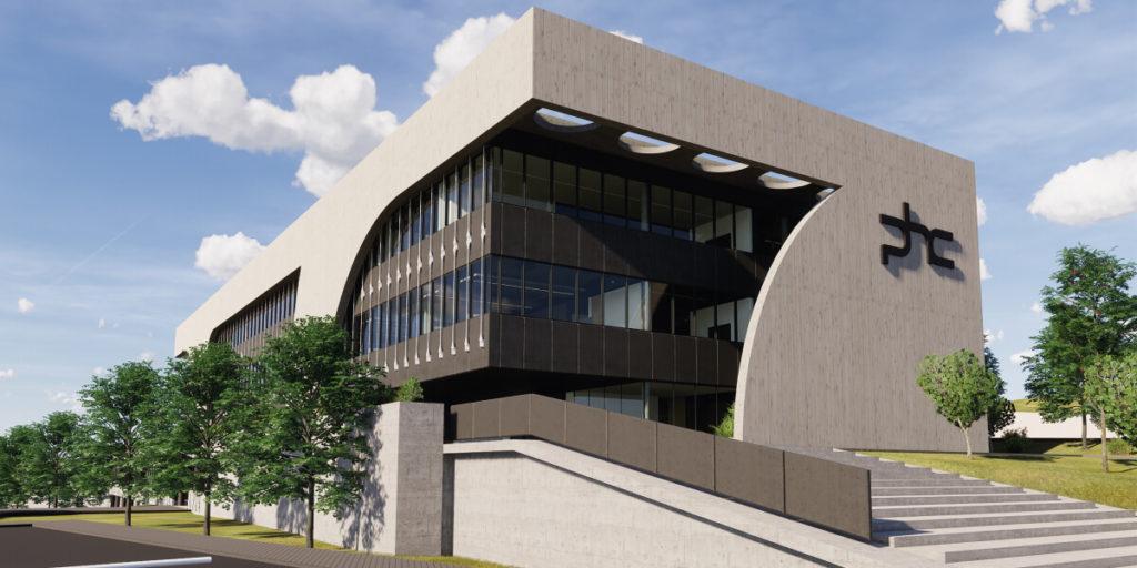 Edifício das instalações da PHC Software em Lisboa