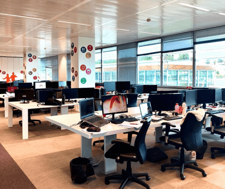 Escritórios da PHC Software em Lisboa