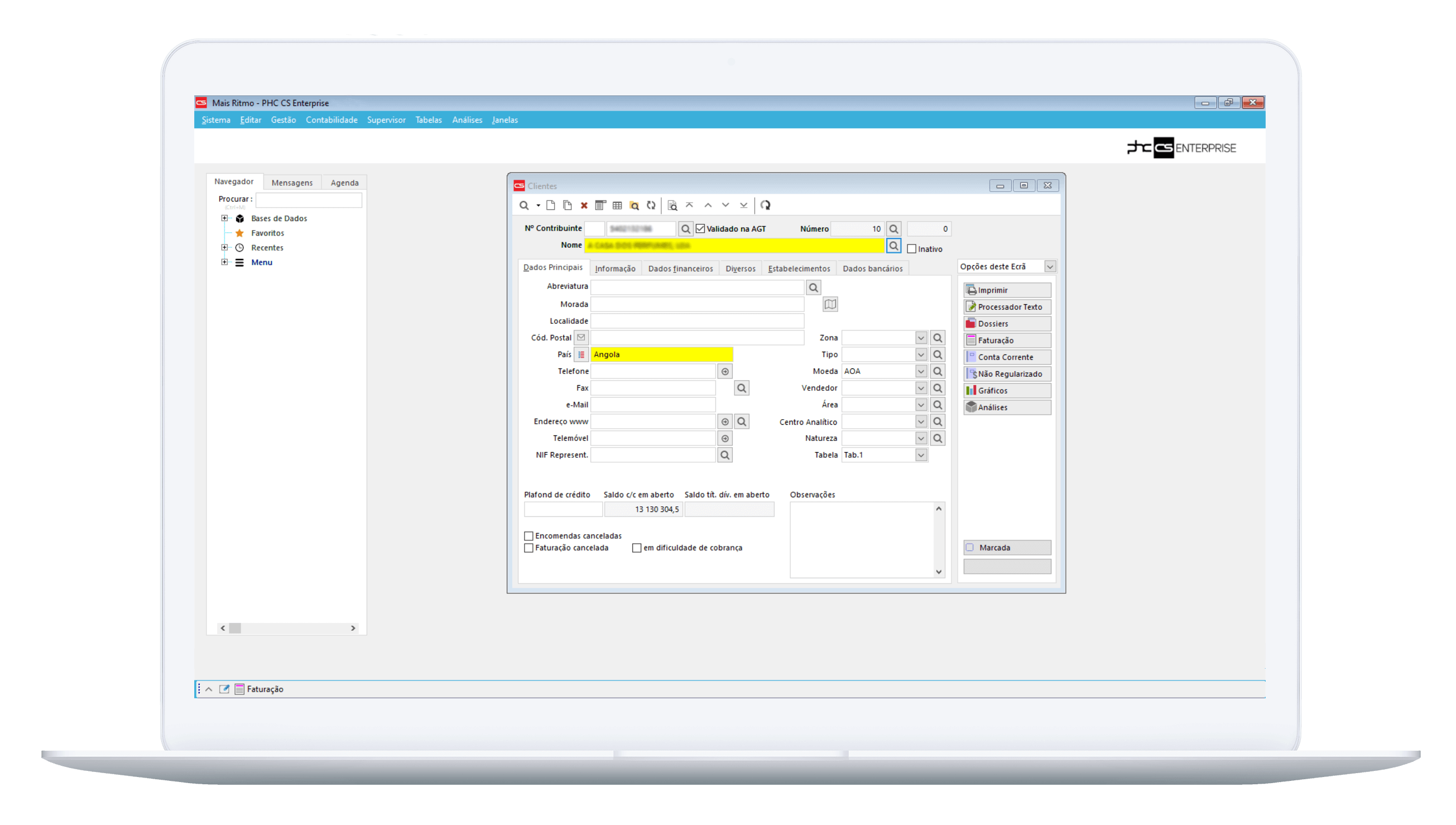 Validação de NIF via webservice da AGT